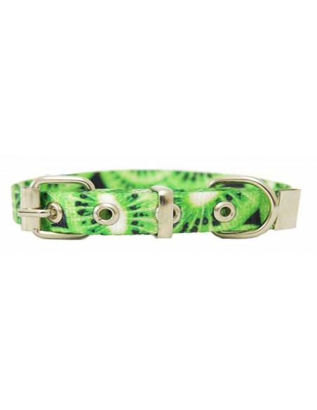 Collar Perro Kiwi 1,5 cm