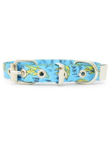 Collar Perro  Banana 1,5 cm