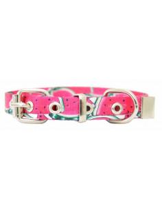 Collar Perro Sandia  1,5 cm