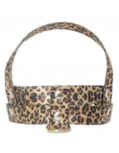 Pretal Perro Leopardo 1,5 cm