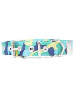 Collar Perro Camuflado Manzana 2,5 cm