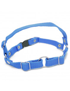 Arnes anti tirones (Simil Easy Walk) 2 cm Azul