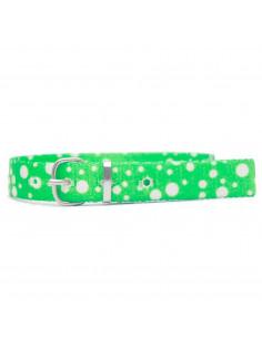 Collar Gato Lunar Verde