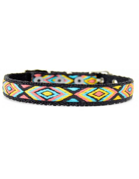 Collar Perro  Rombo 1,5 cm