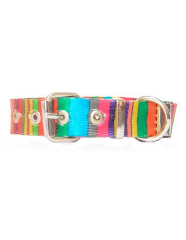 Collar Perro Rayas Vertical 2 cm