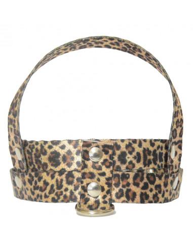Pretal Perro  Leopardo 2 cm
