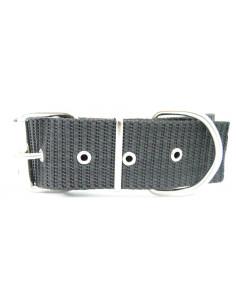 Collar Perro Militar 5 cm Gris