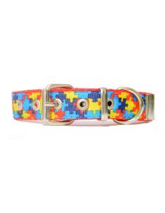 Collar Perro Puzzle 2 cm