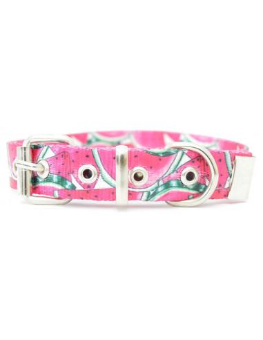 Collar Perro Sandia 2,5 cm