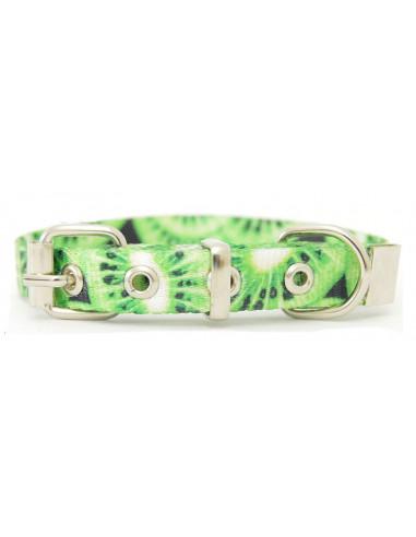 Collar Perro  Kiwi 2,5 cm