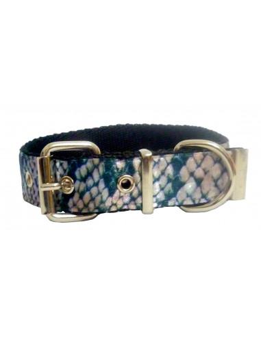 Collar Perro Serpiente 2,5 cm