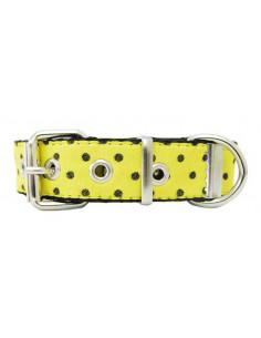 Collar Perro LunarPre 2,5 cm Amarillo