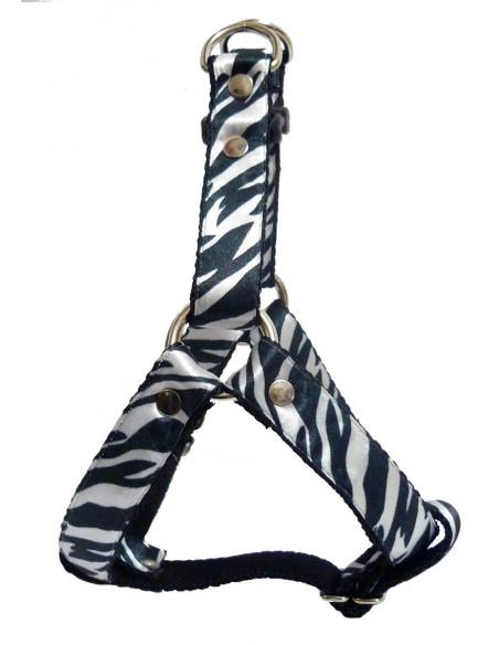 Arnes Perro Cebra 2,5 cm