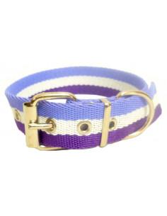 Collar Perro Lilia-Violeta 3 cm