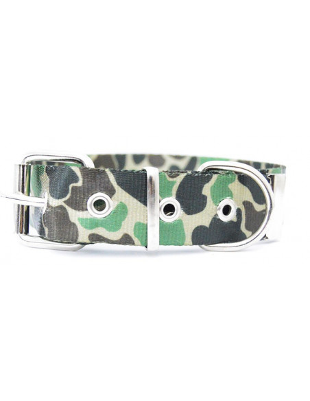 Collar Perro Camuflado 3 cm