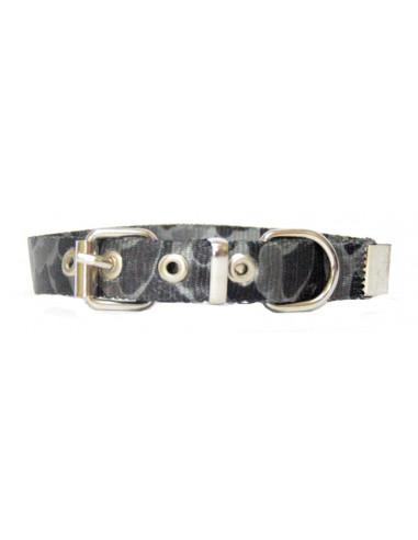 Collar Perro Camuflado 1,5 cm