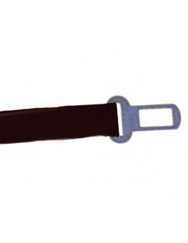 Cinto Seguridad Auto Perro Liso Negro