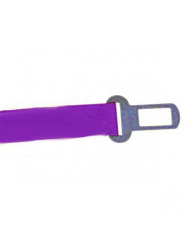 Cinto Seguridad Auto Perro Liso Violeta