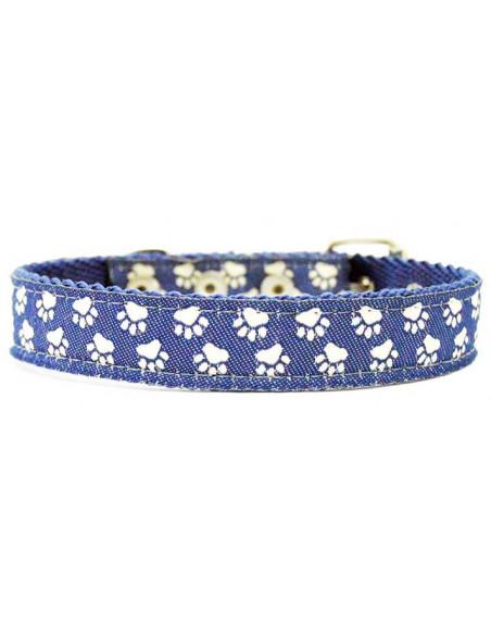 Collar Perro Patitas 2 cm