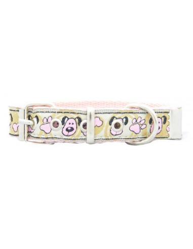 Collar Perro Dogi2 2 cm Beige