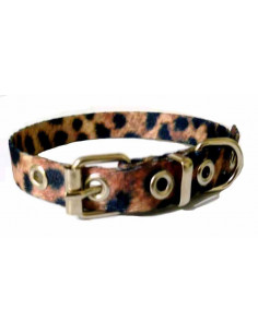 Collar Perro Leopardo 1,5 cm